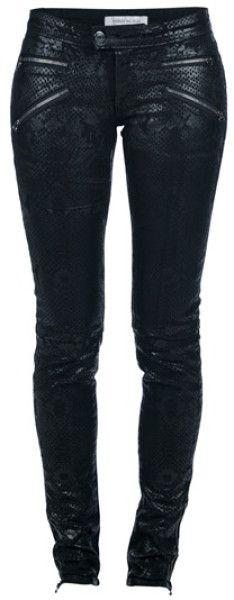 Snake Skin Print Trousers @Lyst