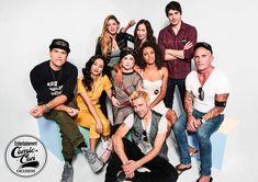 Comic-Con Exclusive portraits from EW's studio Legends Of Tomorrow Cast, Legends Of Tommorow, Nick Zano, Maisie Richardson Sellers, Dc Comics, Brandon Routh, Dominic Purcell, John Constantine, Matt Ryan