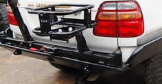 Landcruiser 100 Series Rear Bumper 4x4labs expedition bumpers for Landcruiser 100 series