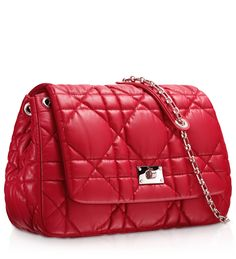 #DIOR MILLY LA FORÊT - Red leather 'Dior Milly La Forêt' bag