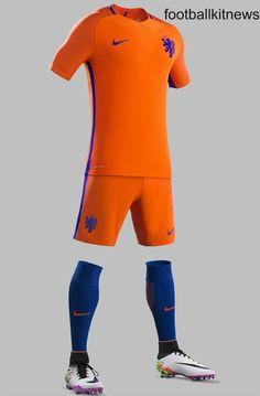 c6379e7b6c0 Holland Home Kit 2016 17 Football Uniforms
