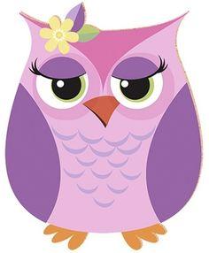 Owl Clip Art, Owl Art, Owl Classroom, Purple Owl, Owl Cartoon, Owl Pictures, Decoupage, Owl Always Love You, Owl Crafts