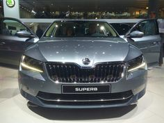 2016 Skoda Superb 4x4 - Want to see more? Follow the link on the photo for Skoda at IAA Frankfurt 2015!