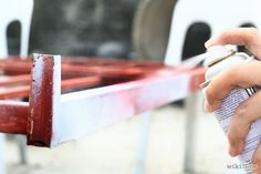 How to Spray Paint a Metal Bed Frame