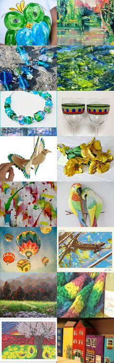 Flying Colors  by Happy Dog Hydrants on Etsy--Pinned+with+TreasuryPin.com