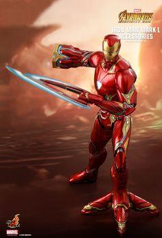 Hot Toys : Avengers: Infinity War - Iron Man Mark L scale Accessories Collectible Set Marvel Comics, Marvel Heroes, Marvel Avengers, Avengers Series, Iron Man Pictures, Hot Toys Iron Man, Iron Man Art, Iron Man Movie, Robert Downey Jr.