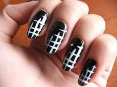Goth Style Vamp Your Nails Cool Easy Nail Designs Black