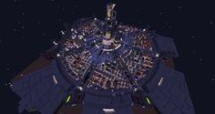 A Dedicated Final Fantasy Fan Built All of Midgar From Final Fantasy VII in Minecraft