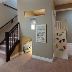 Love this basement idea.
