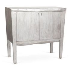 Check out this item at One Kings Lane! Gray Live-Edge Tall Sideboard