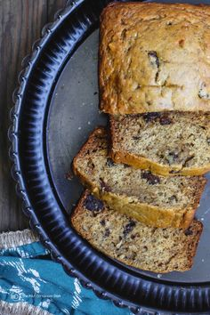 Banana Walnut Bread (W/olive oil) |The Mediterranean Dish. Healthy Banana Bread recipe with a Mediterranean twist! Made with olive oil and honey! So yes, it's butter-free and sugar free. Delicious and nutrition-packed with dates, walnuts and a few fragrant spices. Get the step-by-step and more at TheMediterraneanDish.Com