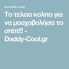 Το τελειο κολπο για να μοσχοβολήσει το σπίτι!!! - Daddy-Cool.gr Energy Bites, Yams, Finger Foods, Healthy Snacks, Daddy, Food And Drink, Cooking, Blog, Recipes