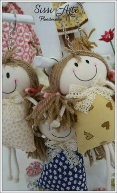 Boneca sorriso chaveiro