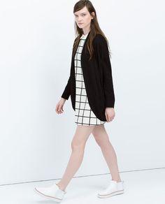 Image 3 of PLUSH JACKET from Zara