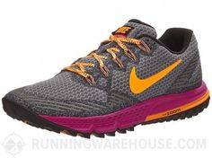 Nike Zoom Wildhorse 3 Women's Shoes Grey/Fuchsia/Citrus