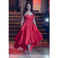 #Glamour #Special #Party #Prom #Red #Dress #StadaBoutique #RomanianDesigner #GeorgianaStavrositu