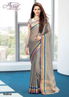 Our online shopping store has the widest range of rich indian sarees. Grab this cotton grey casual saree for party and casual. Designer Sarees Online Shopping, Latest Designer Sarees, Cotton Blouses, Cotton Saree, Grey Saree, Casual Saree, Handloom Saree, Party Wear Sarees, Printed Sarees