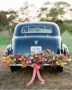 37 Stunning Getaway Car Decor Ideas   HappyWedd.com