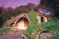 Kiásta otthonukat egy domb belsejébe, ha meglátod belülről, elakad majd a lélegzeted!
