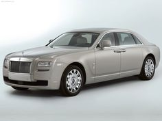 Rolls Royce Ghost Extended Wheelbase - for when you need a little extra legroom in the back