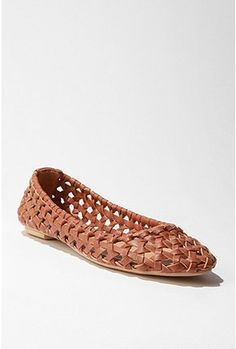basket weave shoes at UO