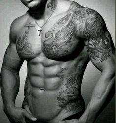 Eye Candy with Ink...doesn't get better than this