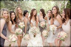 mismatched-bridesmaid-dress-photos.001 — Wedding Ideas, Wedding Trends, and Wedding Galleries