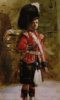 The Queens Drummer ~ Highlanders Regimental Museum