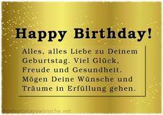 Geburtstagswünsche Entdecken Sie die richtigen Gedichte und passenden Glückwünsche für Ihre Gratulation. Von Herzen soll der besondere Glückwunsch kommen, Freude überbringen und natürlich gut zum Geburtstagskind passen. Bei uns finden Sie schöne Geburtstagswünsche und herzliche Sprüch, sowie beliebte Klassiker. Geburtstagswünsche Fehler am Geburtstag vermeiden mit dem Glückwunsch-Knigge 9 Tipps für individuelle Geburtstagswünsche und Sprüche 1 … Seite 5 weiterlesen