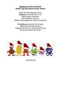 Julsång babblarna