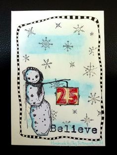 Stampotique Designers Challenge: SDC157: Christmas in July