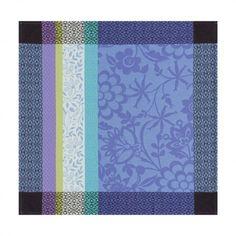 Serviette Provence Bleu lavande 58x58 100% coton