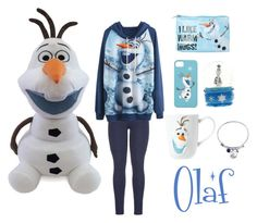 """""""Olaf"""" by leyna-yost ❤ liked on Polyvore featuring Disney and maurices"""