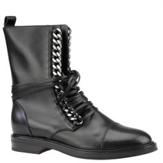 Casadei lace-up biker boots, autumn winter 2015. From shop.wunderl.com