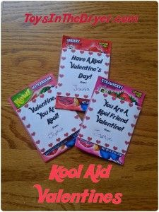 Kool-Aid Valentines FREE Printable! | Toys In The Dryer