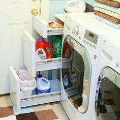 Organización cuarto de la lavado