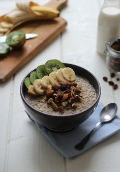Mon quinoa pudding