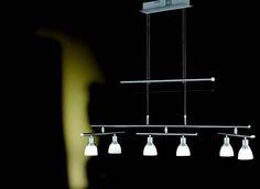 Lustr LED  WOFI WO 7596.06.64.0000 (TALAS) Oblíbený typ závěsného svítidla (lustr) pro použití do obýváku, kuchyně, ložnice, ale i do kanceláře #design, #consumer, #functional, #lustry, #chandelier, #chandeliers, #light, #lighting, #pendants #světlo #svítidlo #wofi #lustr #led