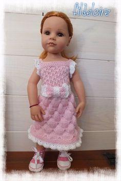 vêtement compatible poupée Gotz Hannah  50 cm