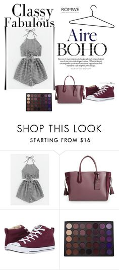 """""""fashion"""" by elmaimsirovic-732 ❤ liked on Polyvore featuring Longchamp, Converse and Morphe"""