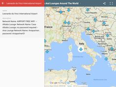 APriceless Map with the Wi-Fi Passwords for Any Airport inthe World