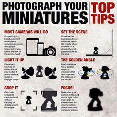Miniatures photo top tips