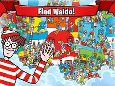 Waldo & Friends App by Ludia. Puzzle Game Apps.