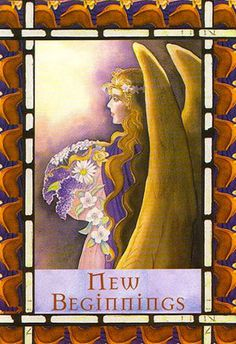 The angels know that change can be frightening, and they surround you now with loving energy... (click image to keep reading)