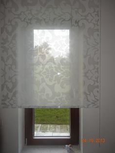 látková dekorativní roleta Roman Shades, Curtains, Home Decor, Blinds, Decoration Home, Room Decor, Draping, Home Interior Design, Roman Blinds