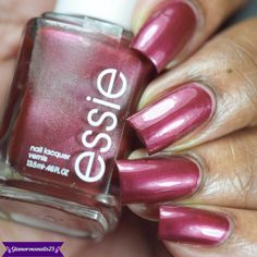 Ssssexy Essie, Swatch, Cool Designs, Nail Polish, Nail Art, Nails, Health, Ideas, Enamels