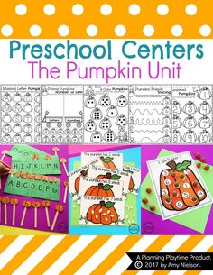 Have you seen these adorable Pumpkin Preschool Activities? Excellent Letter and Number Practice with all of the fall fun of pumpkins.