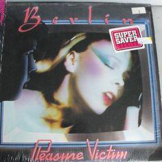 Berlin, Pleasure Victim, Vintage Record Album, Vinyl LP, Classic New Wave Rock, American Rock Band, The Metro, MTV Video Stars by VintageCoolRecords on Etsy
