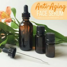 Face Serum Recipes for dry, acne, sensitive, oily, mature, and normal skin - ONE essential COMMUNITY