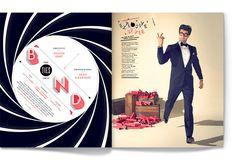 SerialThriller™ — Washingtonian's Bride & Groom issue. Designed at...